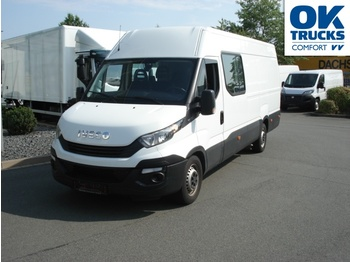 IVECO Daily 35S18/3,0SV, 6-Sitzer, Trennwand, AHK - furgon