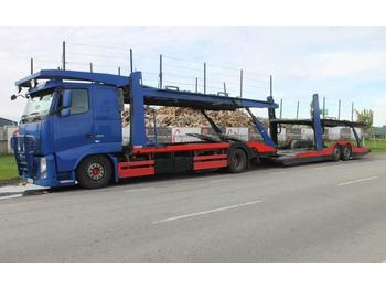 Volvo FH 460 Biltransport + släp  - autotransportues