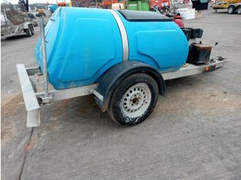2016 Bowser Supply Single Axle Plastic Water Bowser, Pressure Washer - kompresor ajri