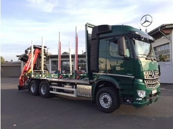 Transport druri Mercedes-Benz Arocs 2651 L 6x4 + Holztransporter